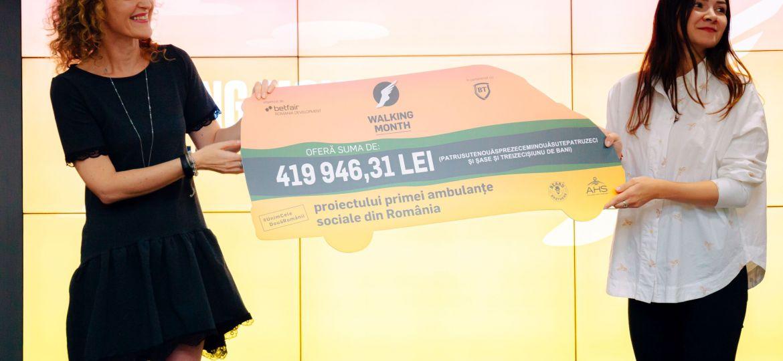 CEC-ul oferit proiectului ambulantei sociale